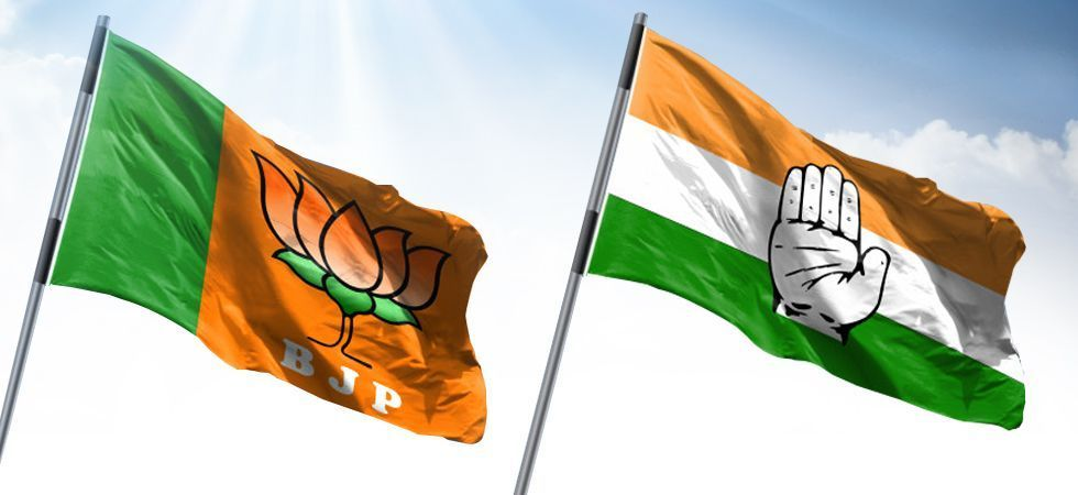 Image result for A comparison of BJP, Congress manifestos: Just Re-think and VOTE