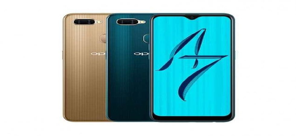 Oppo A7 with 6.2-inch display, waterdrop notch launched; Know price, features and more (Image: Twitter)