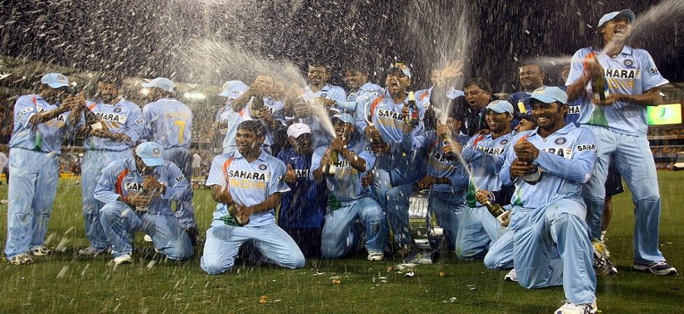 MS Dhoni's India side won a triangular ODI series in Australia for the first time during the 2008 CB Tri-series. (Image credit: Twitter)
