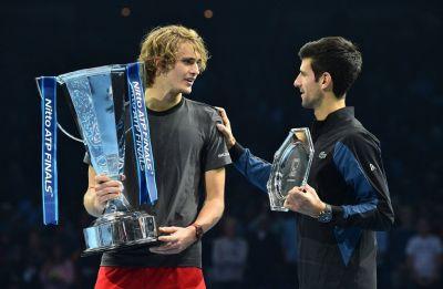 Alexander Zverev beats World No.1 Novak Djokovic to win ATP Finals