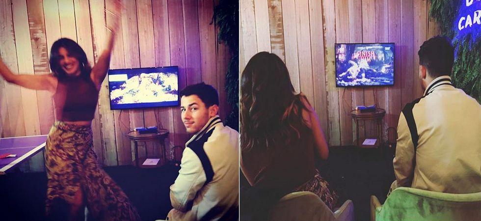 Priyanka Chopra knocks out Nick Jonas in Mortal Kombat/ Image: Instagram