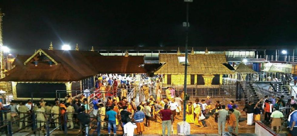 Sabarimala Temple: Late night protests, devotees detained at Sannidhaman (Photo: PTI)