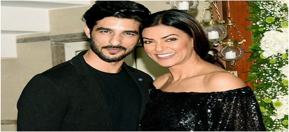 Sushmita Sen and Rohman Shawl are Official! (Photo:Twitter)