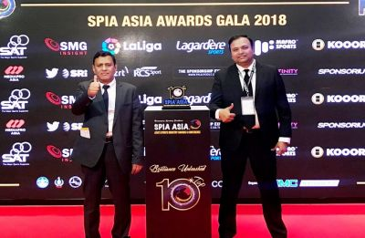 Hero I-League wins silver at SPIA awards