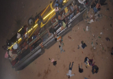 Cuttack: Seven killed as bus carrying 30 passengers falls off Mahanadi bridge