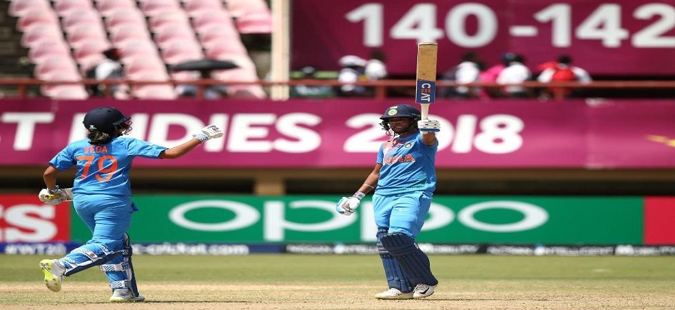 Harmanpreet kaur has led India brilliantly with her attacking batting and they will be aiming for revenge against England. (Image credit: Twitter)