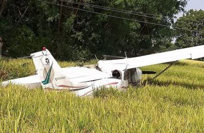 Telangana: Trainer aircraft crash lands in Ranga Reddy district, pilot unhurt