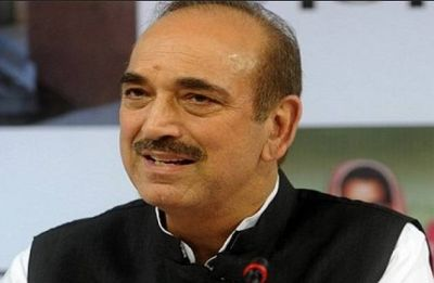 Centre behind dissolution of Jammu and Kashmir Assembly, says Ghulam Nabi Azad