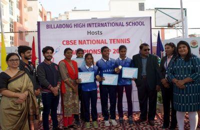 Lakshit Sood highlights CBSE National Tennis Championships held in Billabong School