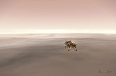 NASA's InSight spacecraft set for touch down on the red planet