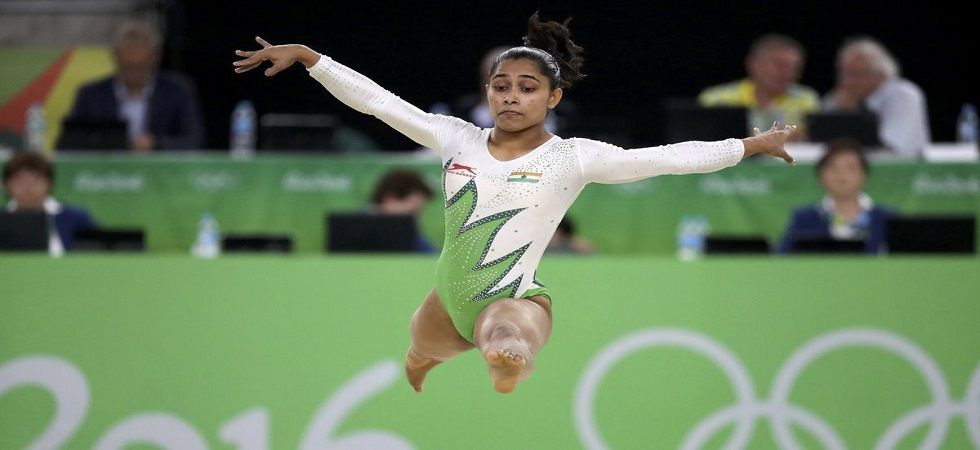 Dipa Karmakar came closer to securing her spot in the 2020 Olympics as she entered the final of the Vault event in the Artistic Gymnastics World Cup. (Image credit: Twitter)