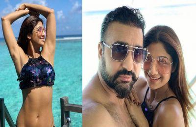 Shilpa Shetty heats up Maldives beaches on anniversary with husband Raj Kundra