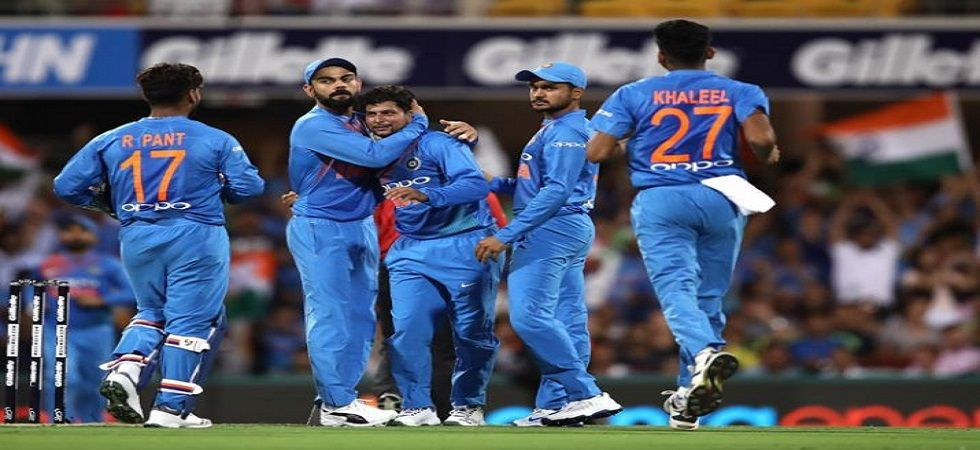 India's efforts to level the series were dented when rain forced the game in Melbourne to be abandoned. Get India vs Australia 2nd t20 highlights here. (Image credit: Twitter)
