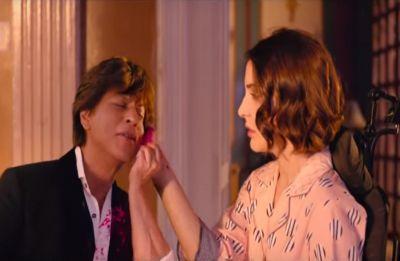 Zero first song: Shah Rukh Khan as Bauua Singh tries to impress Anushka in 'Mere Naam Tu'