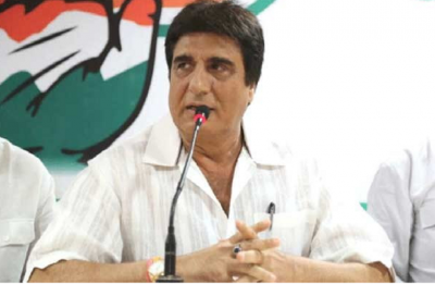 Raj Babbar drags PM Modi's mother while comparing rupee's falling value against US dollar