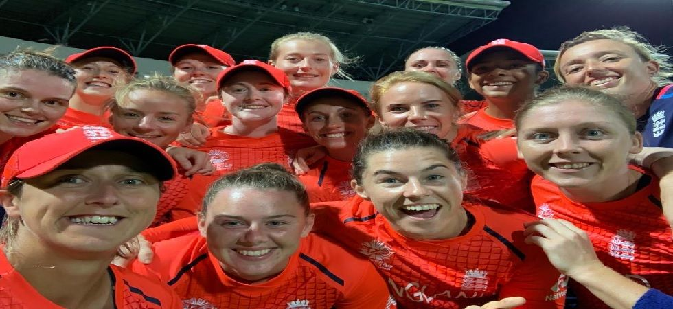 England will now meet Australia in the summit clash after the Southern Stars beat defending champions West Indies by 72 runs (Image: Twitter/ ICC World Twenty20)