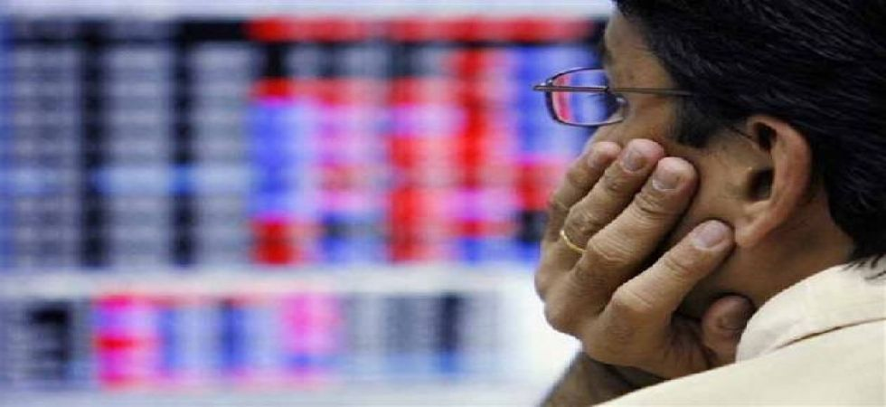 BSE 30-share index fell by 476.14 points to close at 34,981.02 on Thursday. (File photo)