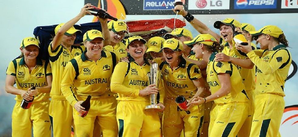 The Australian women's cricket team secured their fourth world T20 title with a crushing eight-wicket win over England. (IMage credit: Twitter)