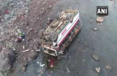 9 dead, 25 injured after bus plunges into river in Himachal Pradesh's Sirmaur