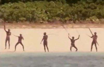 John Allen Chau's Death: Police retreat after 'nervous' face-off with Sentinel Island tribe