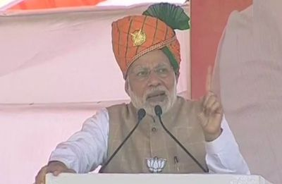 Congress termed Naxals 'revolutionary', questioned surgical strike: PM Modi in Bhilwara