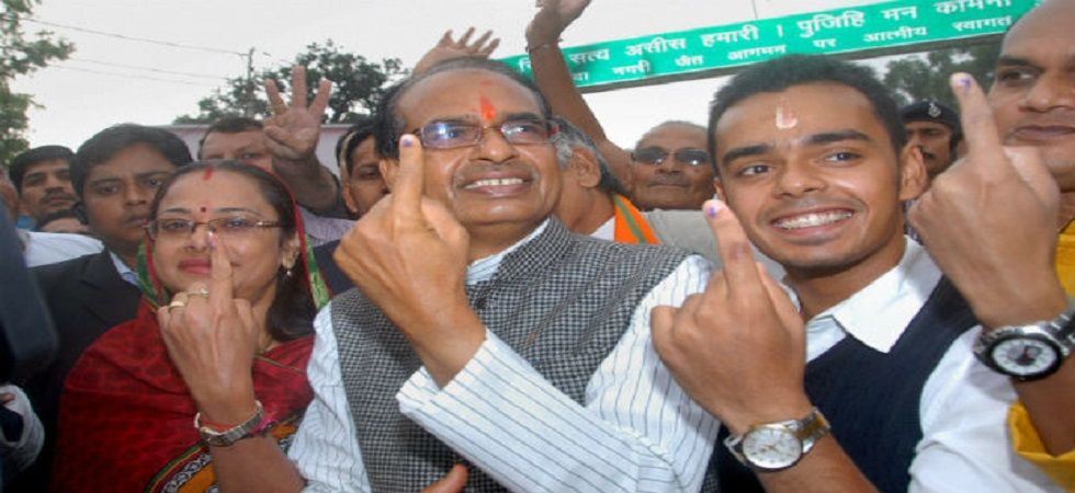 Chief Minister Shivraj Singh Chouhan's BJP is eyeing a fourth straight term in office. (PTI/File)