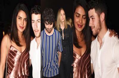 Priyanka and Nick drink to a final 'singles' bash with Sophie Turner, Alia Bhatt, Parineeti Chopra in Mumbai