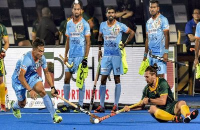 Hockey World Cup: India maul South Africa 5-0 in opener