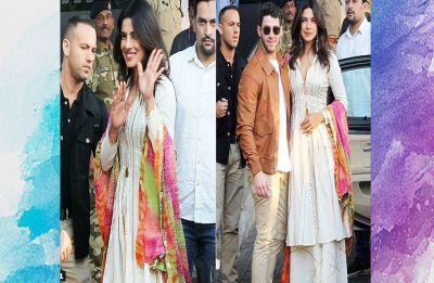 Priyanka Chopra and Nick Jonas's family, Joe Jonas, Sophie Turner, Parineeti and Madhu Chopra arrive in Jodhpur