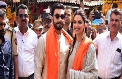 Ranveer Singh and Deepika Padukone seek blessings from Siddhivinayak Lord Ganesha