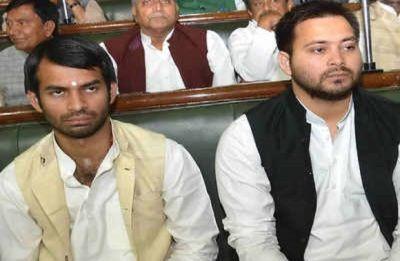 Tej Pratap avoids crossing paths with Tejashwi Yadav, Rabri Devi in Bihar Vidhan Sabha