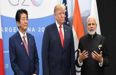 At JAI - Japan, America, India trilateral meeting, PM Modi bats for shared prosperity in Indo-Pacific