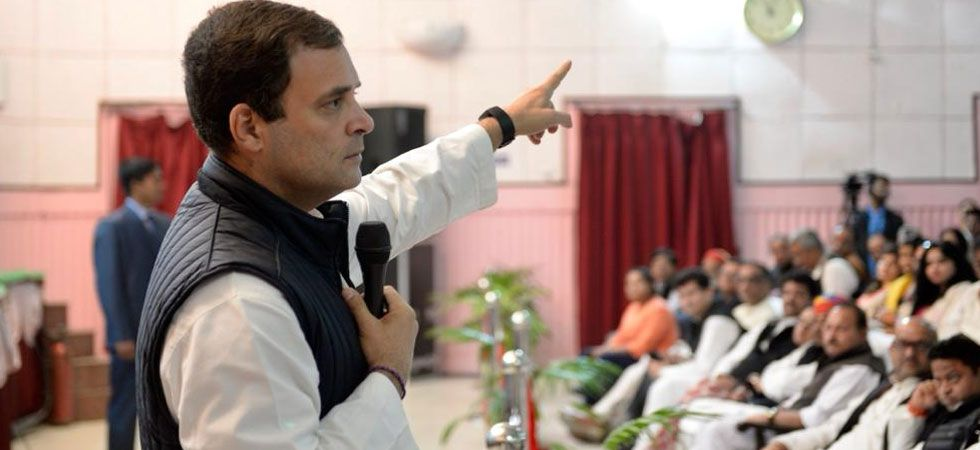 The Congress chief said that PM Modi reached into the Army's domain and a military action into a political asset as to win the Uttar Pradesh Assembly elections. (Photo: Twitter/@INCIndia)