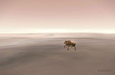 InSight spacecraft's quake sensor has landed at slight angle: NASA