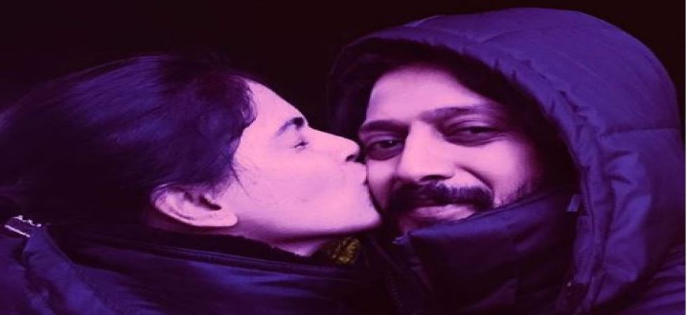 Riteish Deshmukh and wife Genelia D'Souza reunite for a song in 'Mauli' (Instagrammed photo)