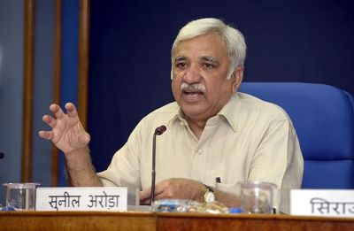 Sunil Arora takes charge as Chief Election Commissioner of India