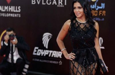 Egyptian actress charged for wearing revealing dress