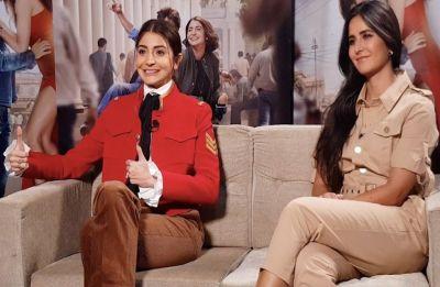 Zero promotions: Who rocked the buttons-up look better? Katrina Kaif or Anushka Sharma