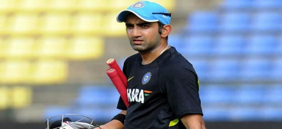 Indian opener and World Cup hero Gautam Gambhir