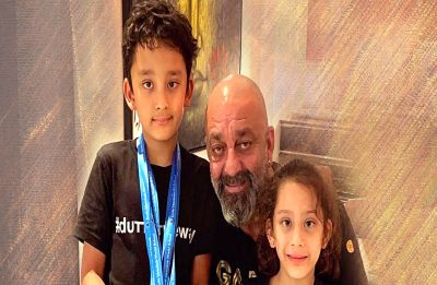 Sanjay Dutt celebrates proud MOMENT with Shahraan and Iqra