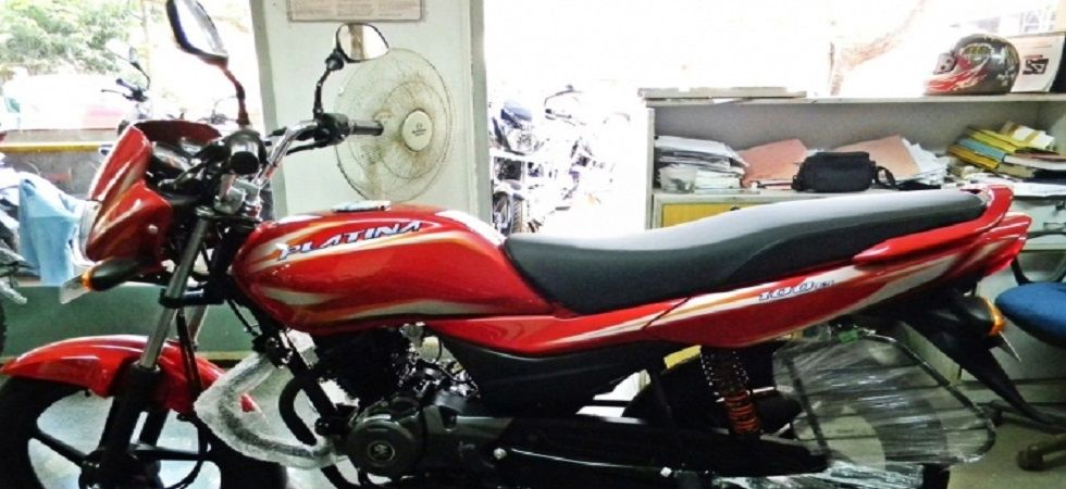 Bajaj Platina 110 with 'anti-skid braking system' launched in India (Twitter)