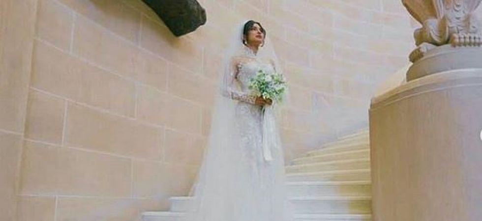 Priyanka Chopra\'s 75-feet Ralph Lauren wedding veil gives rise to ...