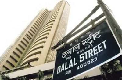 Sensex cracks over 300 points, Nifty drops below 10,700