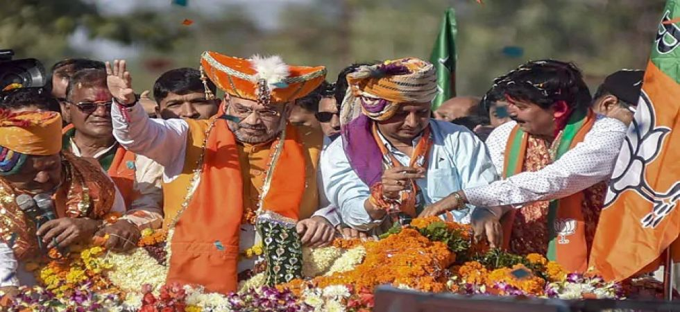The Calcutta High Court denied permission to BJP president Amit Shah for a 'rath yatra' from West Bengal's Cooch Behar. (File photo)