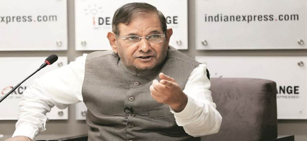 Sharad Yadav stokes controversy, body shames Raje during Alwar rally (File Photo)