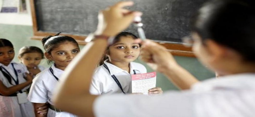 Around 30 children hospitalised after Rubella vaccination at local school in UP (Representational image: PTI)