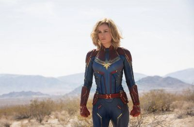 Captain Marvel star Brie Larson says people paying attention to her is 'scary'
