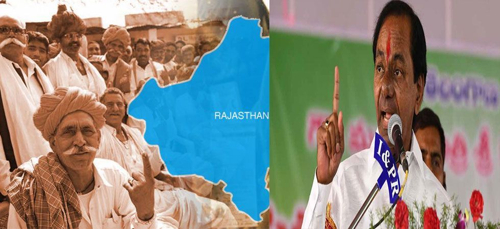 After hard-fought campaign, Rajasthan, Telangana gear up for poll (File Photo)