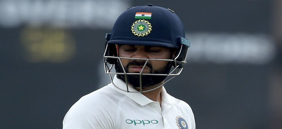 Virat Kohli has not scored a run against Pat Cummins and has fallen to him twice. (Image credit: Twitter)