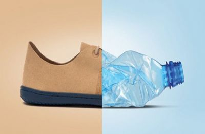Wear plastic shoes to fight ocean pollution